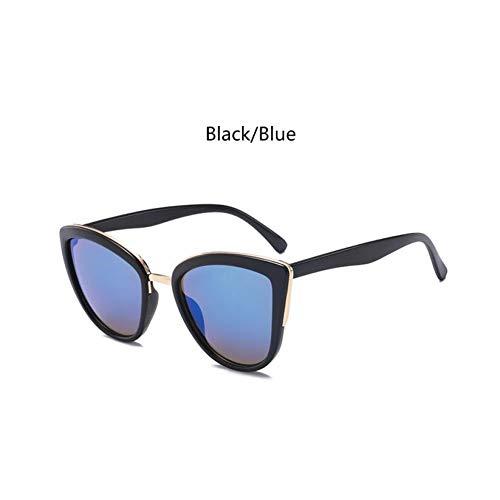 HYUHYU Luxus Cat Eye Sonnenbrille Frau Australien Modemarke Sonnenbrille Weibliche Designer Brown Sonnenbrille