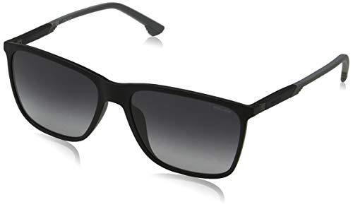Police Herren STORM LIGHT 1 Sonnenbrille, Schwarz Black, 57.0