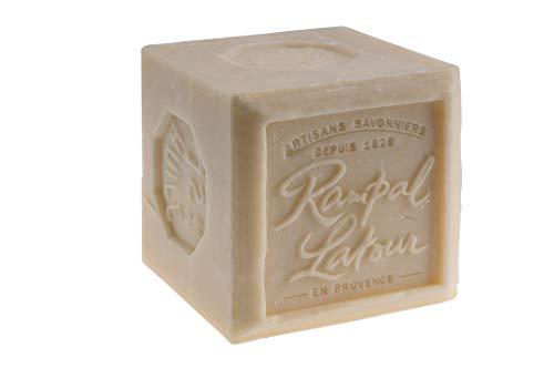 Rampal Latour - Sapone di Marsiglia bianco, 72% cubo, extra morbido per la pelle, 600 g