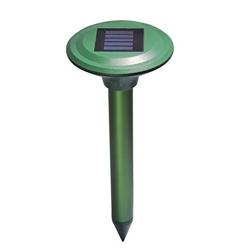 DSNOW Solar Maulwurfabwehr, Ultrasonic Maulwurfschreck, Maulwurfvertreiber, Wühlmausvertreiber, Maulwurfbekämpfung, Wühlmausschreck, Maulwurf, Sonic Repeller Schädlingsbekämpfung(1 Stück)