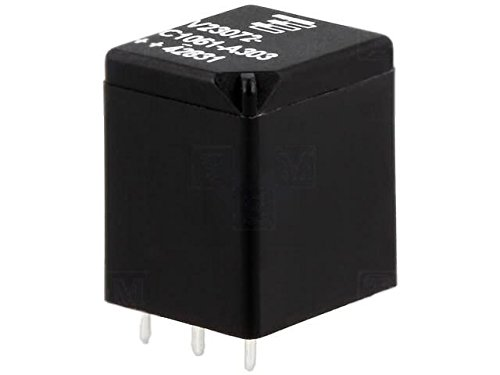 V23072C1061A303 Relay electromagnetic SPDT Ucoil12VDC 10A automotive 5-1393273-6 (Amp Automotive)
