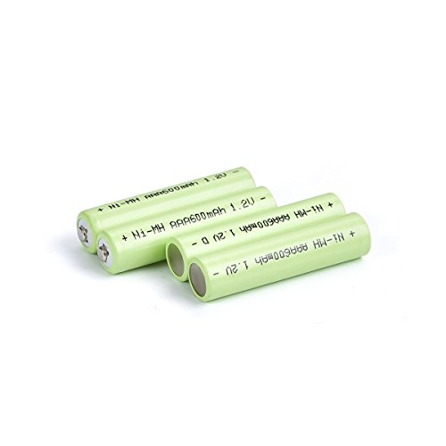 Wiederaufladbar NiMh Akkus AAA Batterien 1000mAh für Fetoo Retives Tyhbelle Upgrow T388 Walkie talkies Batterien (4er-pack)