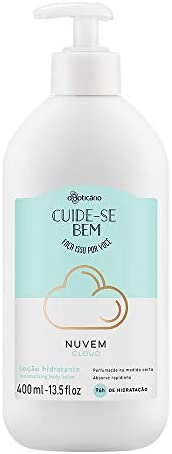 O Boticario Cuide-Se Bem Cloud Moisturizing Body Lotion, 400 ml