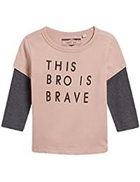next Niños Camiseta De Manga Larga Con Eslogan (3 Meses - 6 Años)