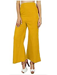 82ace9a6a1 RSVH WFP Women Ladies Comfortable Palazzo Plain Flared Wide Leg Baggy  Trousers