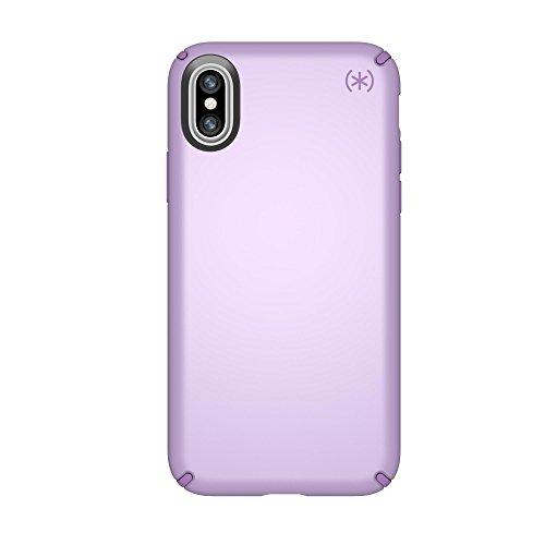 Speck iPhone X Schutzhülle Metallisch Schimmernde Handyhülle Schützende Hülle Tasche Dünne Schale Hardcase Beständig für Apple iPhone X - Presidio Metallic - Lila Apple Iphone Snap Lila