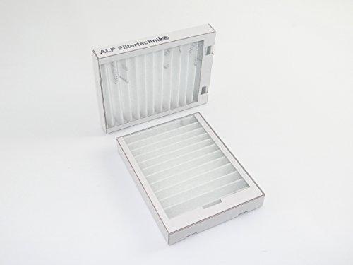 tzfilter Alternativfilter in Kartonrahmen G3 Bypass für Vaillant recoVAIR VAR 275/350 (2 Filter) (Kartonrahmen)
