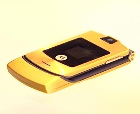 Motorola V3 GOLD Motorola Razr V3 Razor