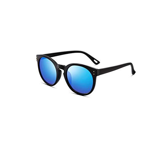 RJYJ Pilot Polarisierte Sonnenbrille, Natürliches Material Objektiv Anti-UVA (Color : Blue)
