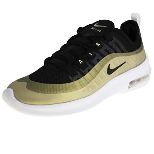 Nike Herren AIR MAX AXIS Leichtathletikschuhe, Mehrfarbig Black/MTLC Gold Star 11, 45 EU (Nike Herren Schuhe Sneaker)