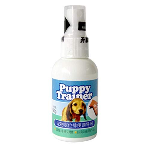 50ML Dog Potty Training Aid Spray Vasino Trainer Good Hygiene Trainer per Dog Cat Puppy Kitty
