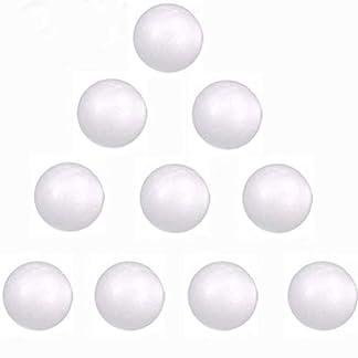 40 40mm Paquete blanca espuma de poliestireno bolas de poliestireno bolas de goma espuma for hacer a mano, Sistema Solar, arreglos florales, boda Decoraciones del partido, pieza central lsmaa
