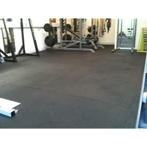 Heavy Duty Large Rubber Gym Mat Commercial