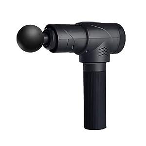 Fascia gun Muskelentspannungsmassagepistole, 4 Massageköpfe, Tiefe Vibration, Geräuschloses Design, Lange Akkulaufzeit…