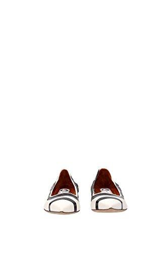FWBAPBP1CONTE160010 Lanvin Ballerine Femme Cuir Blanc Blanc