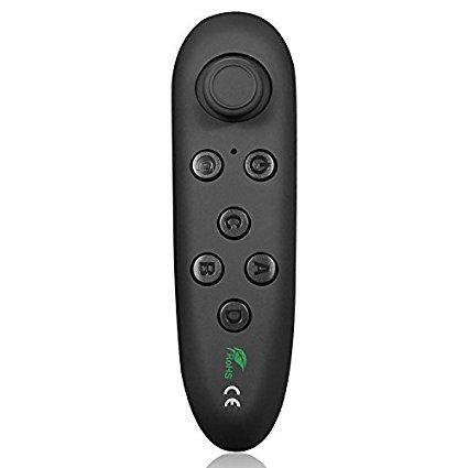Canbor VR Fernbedienung,Wireless Bluetooth Remote Controller Multifunktional Kabellos Controller Gamepad für 3D VR Brille, Samsung, Android Smartphone, Tablet PC, Video, Musik, Maus, Games,