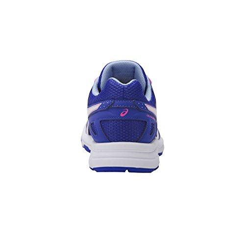 Asics Gel-Galaxy 9 Gs, Chaussures de Gymnastique Mixte Enfant Bleu (Blue Purple/white/airy Blue)