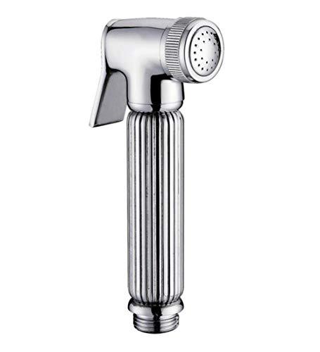 Bottom-spray-bidet Set (Hand Bidet Sprayer Premium Edelstahl Sprayer Shattaf Für Körperpflege Und Bettpfanne WC Spray Perfect Bottom Cleaner Spray & Duschaufsatz (Sprühdüse),Chrome)