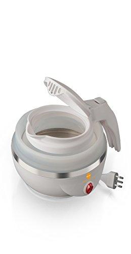 Macom 862 Space Kettle Elektrischer Wasserkocher, kompakt, platzsparend, für unterwegs, Weiß (Wasserkocher Eine Tasse)