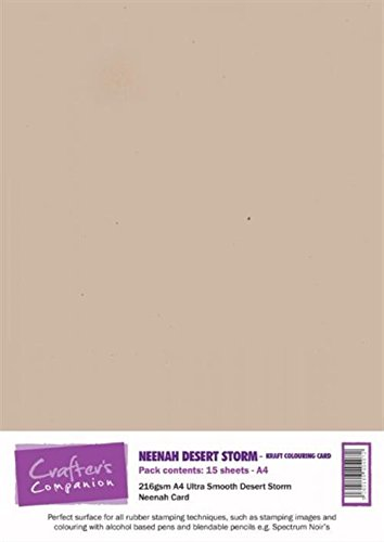 77dae57f758a Crafter s Companion Printable Card - Neenah Desert Storm (15 sheets)