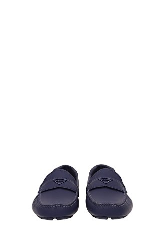 Herren 2dd127baltico Leder Prada Blau Loafers AvvwxUqS