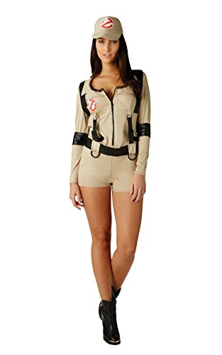 Official Ladies Ghostbuster Costume in four sizes XS to L