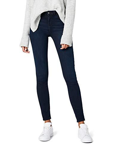Wrangler Damen Jeans HIGH Rise Skinny Schwarz (Blueblack 51L), W26/L30