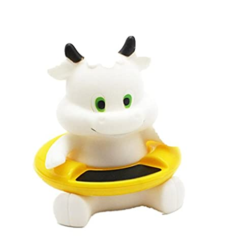 wuayi Cute Animal Shape Baby Infant Bath Tub Thermometer Water Temperature Tester Toy (White)
