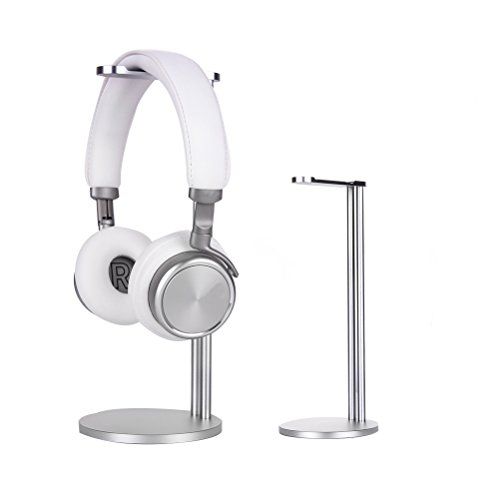 Kopfhörer Ständer, EletecPro Aluminium Legierung Universaler Kopfhörer Ständer Headset, geeignet für Sennheiser, Beyerdynamic ,Sony, AKG, Audio-Technica Kopfhörer und auch andere (Silber)