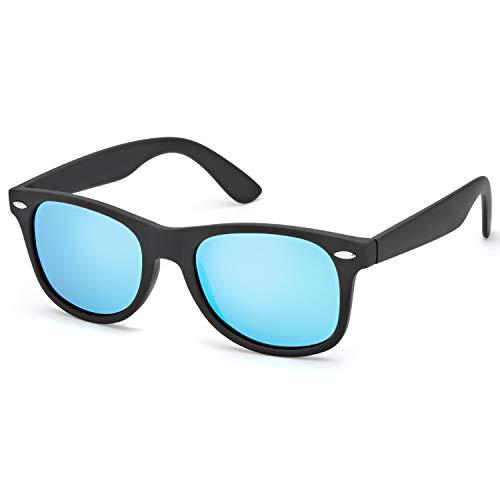 510270cb80 Gafas De Sol Polarizadas Espejo Hombre & Mujer Retro Vintage Super Ligero  Marco -100%