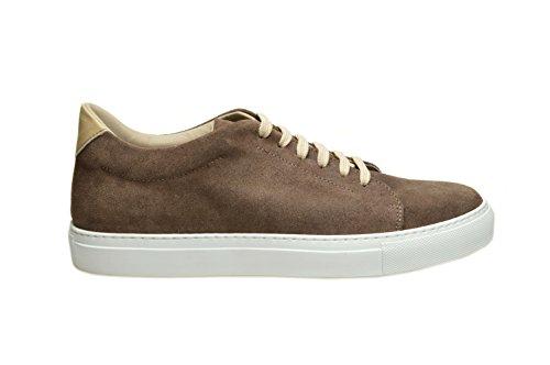 Sneaker Berdini art.Adam. Crosta Tdm Nr. 44 Scarpe da uomo in pelle Made in Italy. Calzaturificio Faber