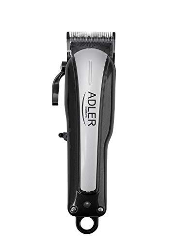 Adler AD 2828 Haarschneider für Haustiere AKKU mit 10 Aufsätze, Haustier Grooming, Leise Tierhaarschneider 40W, Haarschneidemaschine <60dB, Schermaschine für Hund und Katze