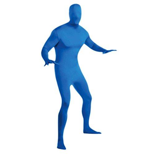 Petalum Halloween Kostüm Erwachsen Ganzkörperanzug Second Skin Anzug One Piece Lycra Bodysuit Bühnen Performance Kleidung