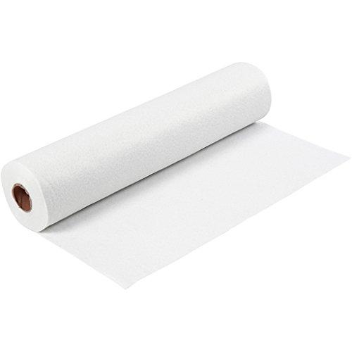 Feltro, l: 45 cm, bianco, 5m - Feltro Bianco