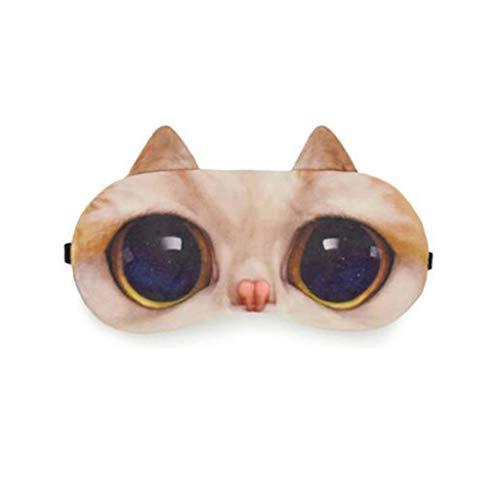 Eye Mask-GHJ Augenmaske, niedliches Karikaturschlafeneis (Farbe : C)