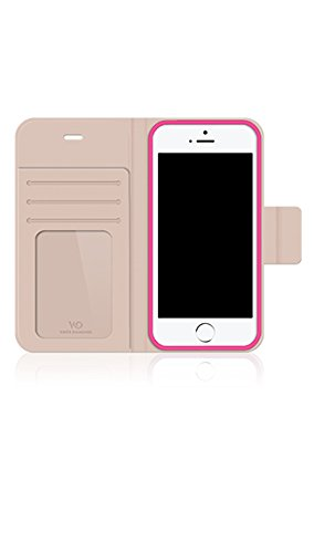 White Diamonds 1312TRI65 Crystal Wallet iPhone 6 Blauw Rosa