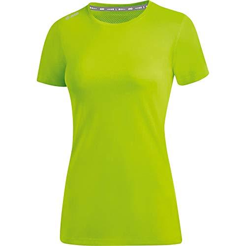 JAKO Damen Run 2.0 T-Shirt, neongrün, 42