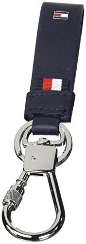 Tommy Hilfiger Herren Corporate Keyfob Schlüsselanhänger, Blau (Tommy Navy), 1.5x17.8x4 cm