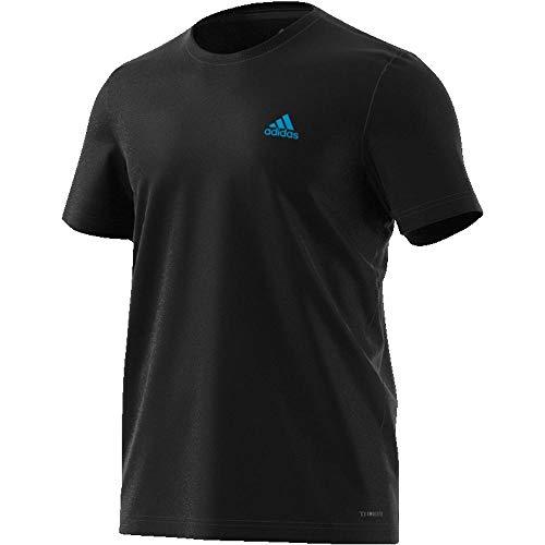 adidas Herren Paris Graph T-Shirt, Black, - Adidas Tennis Shirt