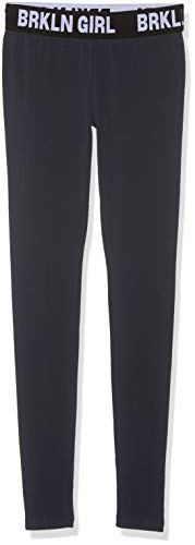 s.Oliver Mädchen 66.902.75.2683 Leggings, per Pack Blau (Dark Blue 5834), 140 (Herstellergröße: S/REG) (Jersey Mädchen Leggings)