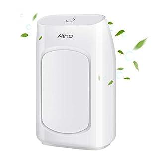 Aromatherapie Aiho Aroma Diffuser, Ultraschal Luftbefeuchter, Kühler Nebel, 7 Farben LED Lichter für Hause, Yoga, Büro, Schlafzimmer(200ml)