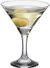 Pasabahce Bistro Martini Glass,190 ml,Set of 6