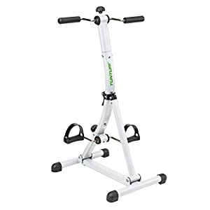 Tunturi Fahrrad Dual Bike Trainer, Silber, One Size