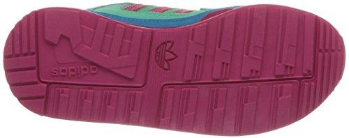 Adidas, ZX 850 Cf K, Scarpe Per Bambini, Unisex - Bambino Solmnt/Bopink/Boaqua