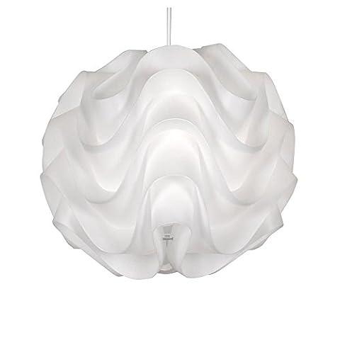 Lampe pendentif Nordic Modern Creative Wave Flower Lustre à la