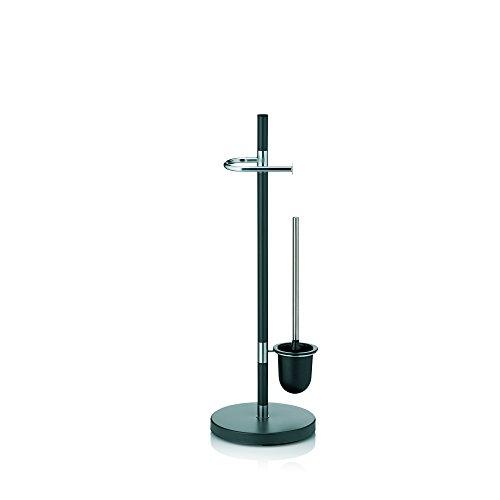 Kela 22231, WC-Bürstentopf und Papierhalterung, Toilettengarnitur, Metall, Sinerio, 76,5cm,...
