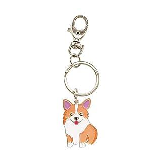 Welsh Corgi Dog Schlüsselanhänger - Corgi Schlüsselanhänger - Corgi Bag Charm - Dog Tag - Geschenke für Hundeliebhaber
