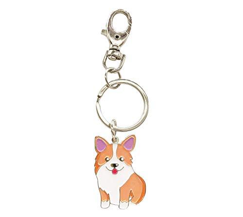 Welsh Corgi Dog Schlüsselanhänger - Corgi Schlüsselanhänger - Corgi Bag Charm - Dog Tag - Geschenke für Hundeliebhaber -