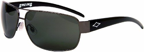 78873ec47acca Style Eyes Tai8 Sunglasses (Smoke Gunmetal-Black) by Style Eyes Optics