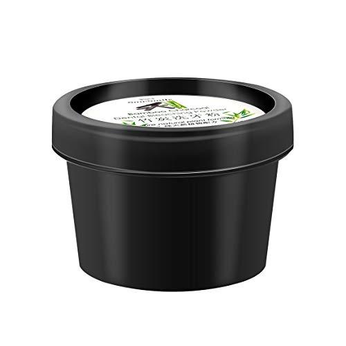 Funnyrunstore Dientes para blanquear los polvos Cavidad oral Limpieza de la higiene Quitar las manchas de té de café Producto dental Dentífrico Halitosis antibacteriana (Color: negro)
